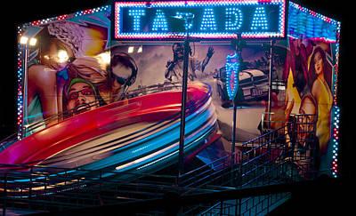 Digital Art - Fairground Attraction by Brendan Quinn