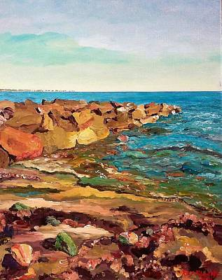 Painting - Fairhaven Beach by Ray Khalife