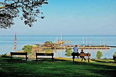 Fairhope Alabama Pier Art Print
