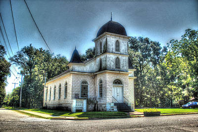 Digital Art - Fairhope Lebanon Chapel by Michael Thomas
