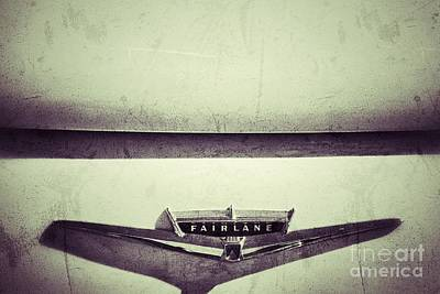 Photograph - Fairlane by AK Photography