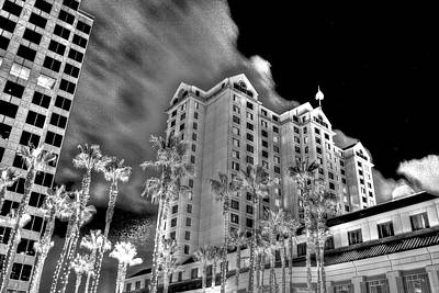 Fairmont From Plaza De Cesar Chavez Art Print