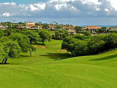 Photograph - Fairway At Dunes Of Maui Lani  by Kirsten Giving