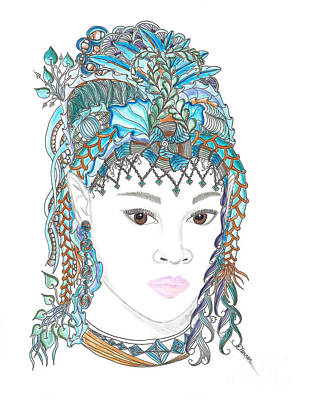 Fairy 5 Art Print