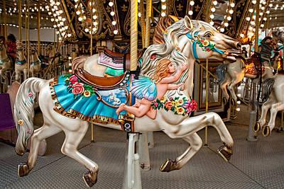 Photograph - Fairy Carousel Horse I by Kristia Adams