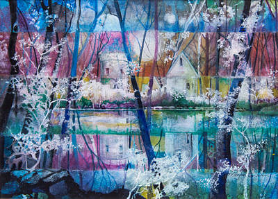 Fairy Castle Original by Patricia Allingham Carlson