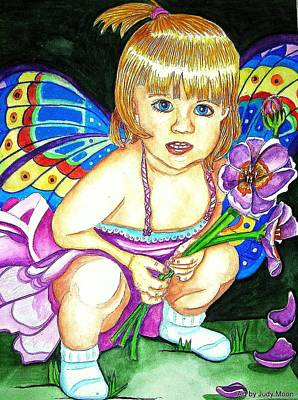 Fairy Child Art Print
