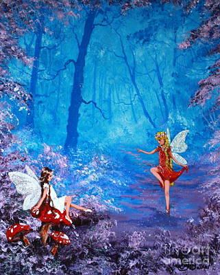Fairy Dancer Art Print by Jean Walker