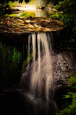 Faerie Photograph - Fairy Falls by Loriental Photography
