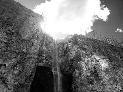 Photograph - Fairy Falls by Tarey Potter