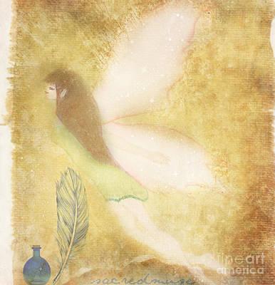 Fairy Folk Magic Art Print by Sacred  Muse