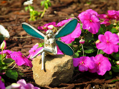 Photograph - Fairy Garden by Andrea Dale