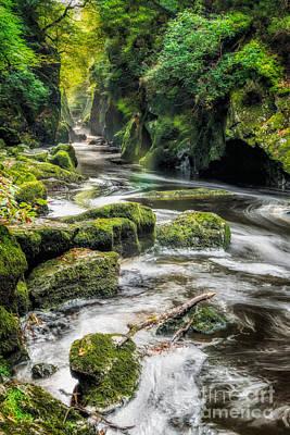 Gorge Digital Art - Fairy Glen by Adrian Evans