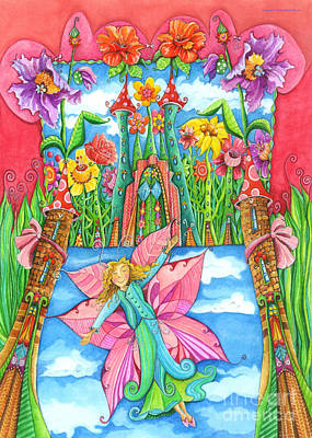 Crafts For Kids Painting - Fairy Godmother by Sonja Mengkowski