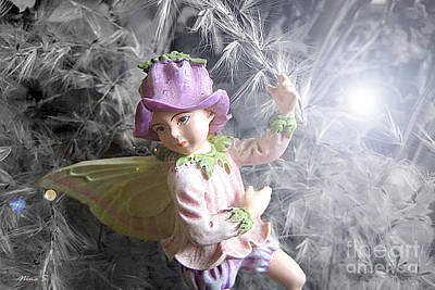 Photograph - Fairy Hiding From The Light by Nina Silver