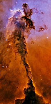 Photograph - Fairy Of Eagle Nebula by Benjamin Yeager