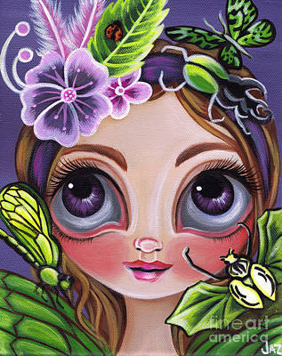 Fairy Of The Insects Original by Jaz Higgins