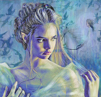 Reverie Digital Art - Fairy Queen by Jane Schnetlage