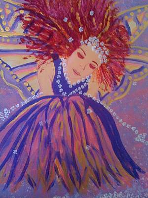Art Print featuring the painting Fairy Remi by Judi Goodwin