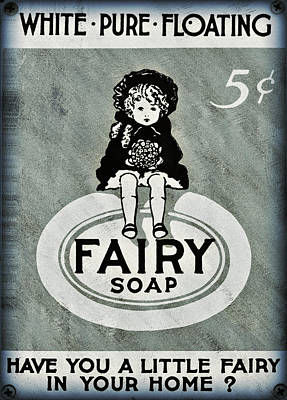 Fairy Soap Art Print