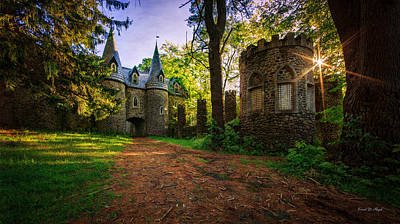Knights Castle Photograph - Fairy Tale Castle by Everet Regal