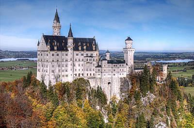 Neuschwanstein Castle Photograph - Fairy Tale Castle by Ryan Wyckoff
