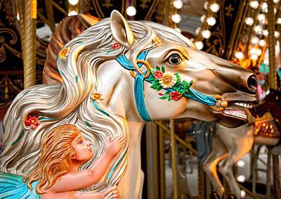 Photograph - Fairy Tale Pony by Kristia Adams