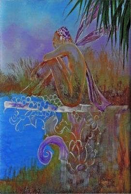 Painting - Fairy Thoughts by Virginia Bond
