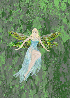 Digital Art - Fairy by Tom Conway
