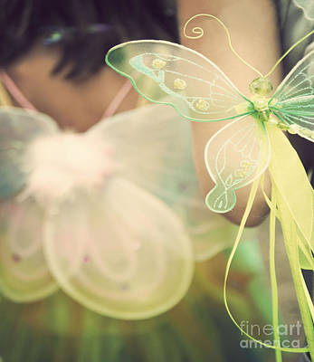 Fairy Photograph - Fairy Wings by Juli Scalzi
