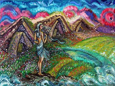 Fairy World Art Print by Yelena Rubin