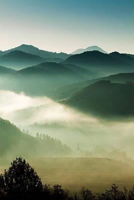 Fairyland Morning Print by Mircea Costina Photography