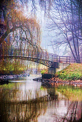 Fairytale Bridge Art Print