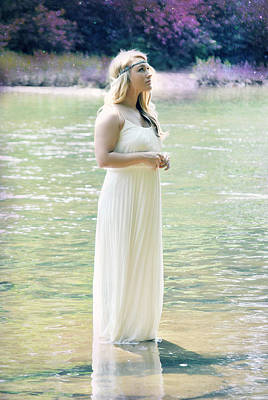 Trash The Dress Photograph - Fairytales And Fireflies by Chastity Hoff