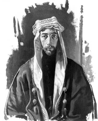 Iraq Drawing - Faisal I (1883-1933) by Granger