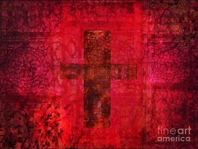 Christian Artwork Mixed Media - Faith by Alley Costa