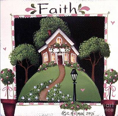 Faith Art Print by Catherine Holman
