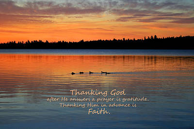 Photograph - Faith In God by Barbara West
