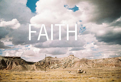 Photograph - Faith In The Rocks by Belinda Lee