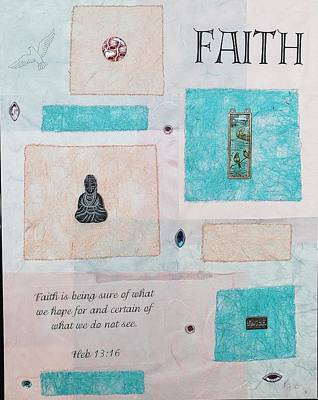 Painting - Faith by Karen Buford