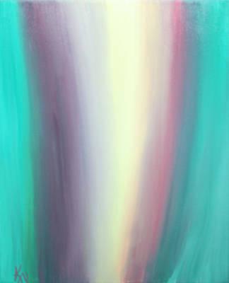 Flowing Art Print by Karen Nicholson