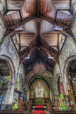 Christian Sacred Photograph - Faith Shines For You by Ian Mitchell