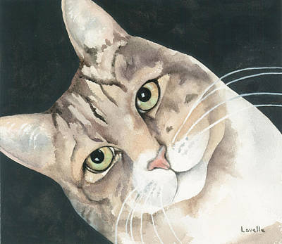 Animal Portrait Painting - Faithful Friend by Kimberly Lavelle