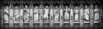 Westminster Abbey Wall Art - Photograph - Faithful Witnesses by Stephen Stookey