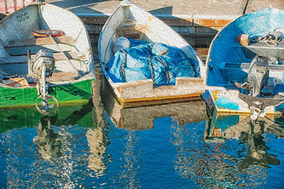 Photograph - Faithful Working Boats by Joan Herwig