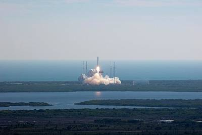 Falcon 9 Test Flight Art Print