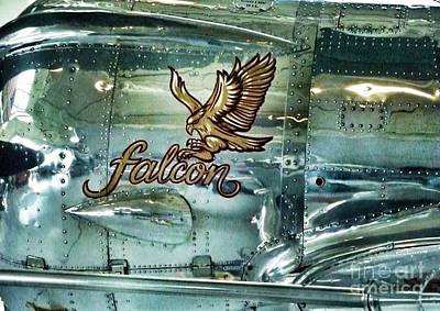 Photograph - Falcon Vintage Airplane by Susan Garren