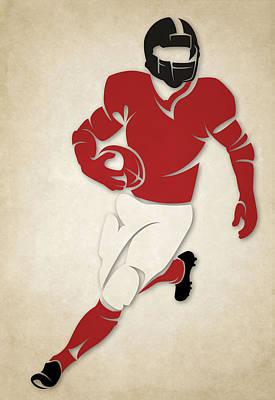Atlanta Falcons Wall Art - Photograph - Falcons Shadow Player by Joe Hamilton