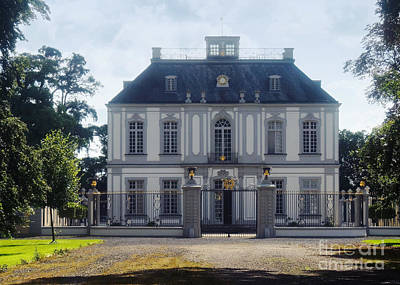 Photograph - Falkenlust Hunting Lodge Germany 2 by Rudi Prott