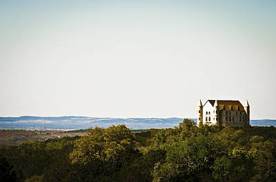 Photograph - Falkenstein Castle In The Big Tx by Heather Grow